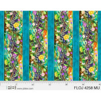 Flower Jewels Stripes - Product Image