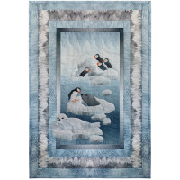 Arctic Circle - Puffins & Seals - Kit or Pattern - Product Image