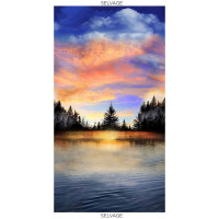 Sunset Sail Sunset Lake Panel - Product Image