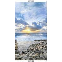SkySunrise on the Coast Panel - Product Image