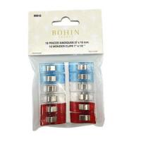 Bohin Wonder Clips 27 X 10mm  12 pcs - Product Image