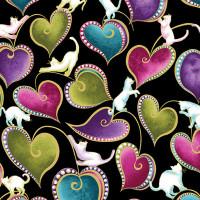 Cat-I-tude Cats & Hearts - Product Image