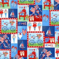 Red White & Blue - Product Image