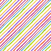 Quirky Bias Stripe - Product Image
