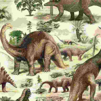 DinoAll Over Dinosaurs - Product Image