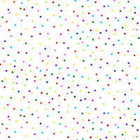 Dots on White - Product Image