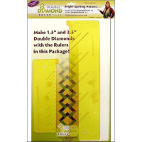 Double Diamond Ruler set - Product Image