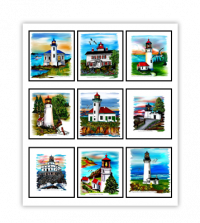 Oregon CoastLighthouse Collection - Product Image