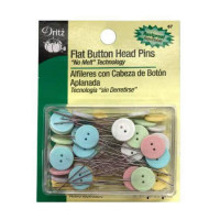 Dritz Flat Button Head Pins - Product Image
