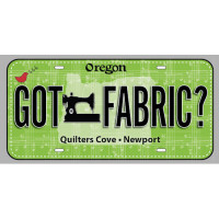 Fabric License PlateGot Fabric? - Product Image
