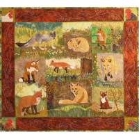 Foxes and Chickens - Product Image