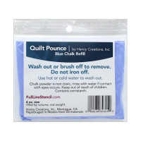 Hancy Mfg Quilt Pounce Refill Chalk Blue 4 oz - Product Image