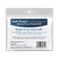 Hancy Mfg Quilt Pounce Refill Ultimate Iron Off 2 oz - Product Image