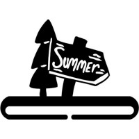 "Hanger - 6"" Summer - Product Image"