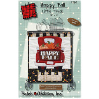 Happy Fall Little Truck - Product Image