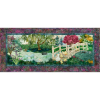 In Full Bloom - Block 7 Bridge Over Troubled Waddles - Product Image