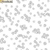 Metallic FlowersWhite/Silver - Product Image