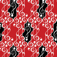 Musical Moments G Clef Scroll - Product Image