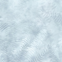 Painted Forest Ice Blue - Fern - Product Image