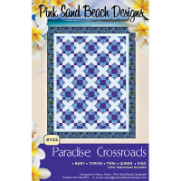 Paradise Crossroads Quilt Pattern  - Product Image