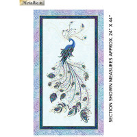 Peacock FlourishPanel - Product Image