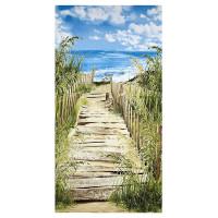 Beach WalkScenic Panel - Product Image