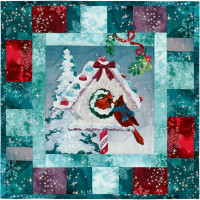 Season's Tweetings Block 6 -Mistletoe Moment - Product Image