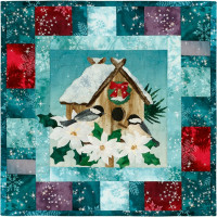 Season's Tweetings-Block 4 Nested in for the Holidays - Product Image
