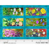 Flower Jewels 6 Flower Panels - Product Image